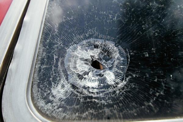 Escena de un ataque armado a autobús. (Foto Prensa Libre: Hemeroteca PL).