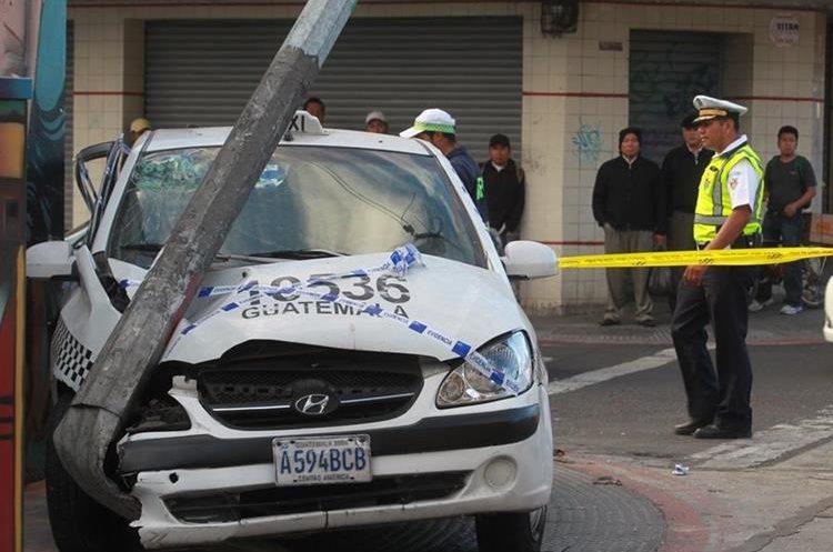 El exceso de velocidad es uno de los principales factores para que ocurran accidentes de tránsito en la capital. (Foto Hemeroteca PL)