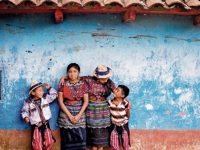 Uno de los momentos favoritos del artista fue la visita a la región de Todos Santos, en Huehuetenango.
