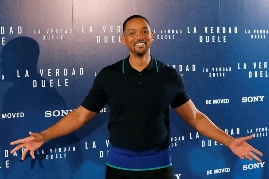 """Will Smith, regresa al drama con el filme La verdad duele"""". (Foto Prensa Libre: EFE)"""
