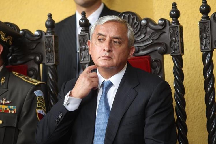 Presidente Otto Pérez Molina no aparece en actividades públicas desde el viernes úlitmo.(Foto Prensa Libre: Hemeroteca)