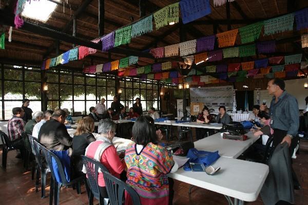 Más de  25 participantes se reunieron en La Azotea, Jocotenango.
