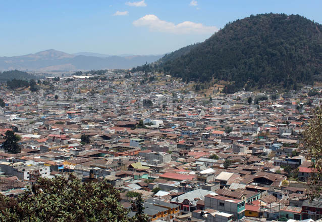 Vista aérea de Quetzaltenango. (Foto: Hemeroteca PL)