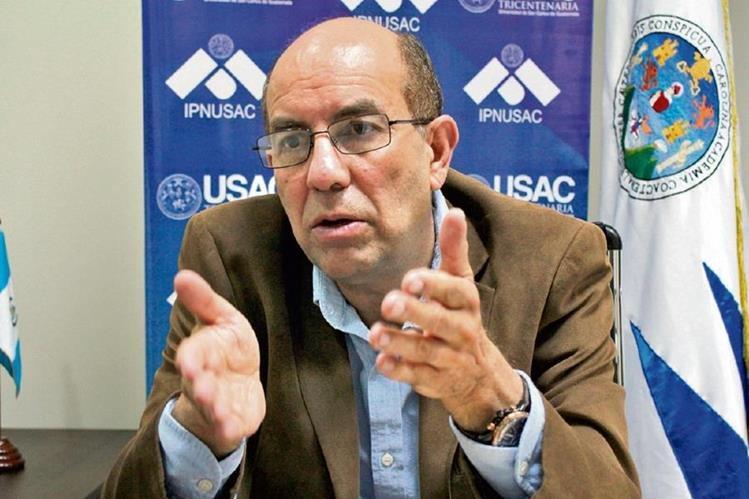 Édgar Balsells, del Ipinusac, dijo que las expectativas financieras para el nuevo gobierno serán complicadas, como resultado de problemas fiscales y bajos ingresos del actual régimen.