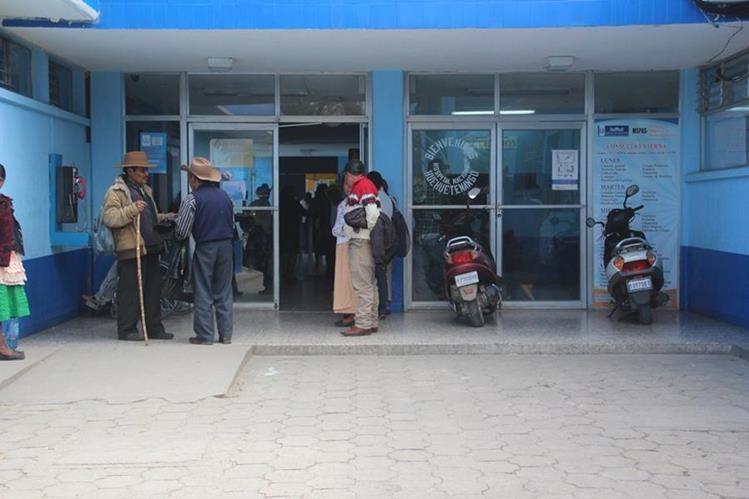 Hospital Regional de Huehuetenango, donde se recupera el menor. (Foto Prensa Libre: Mike Castillo).