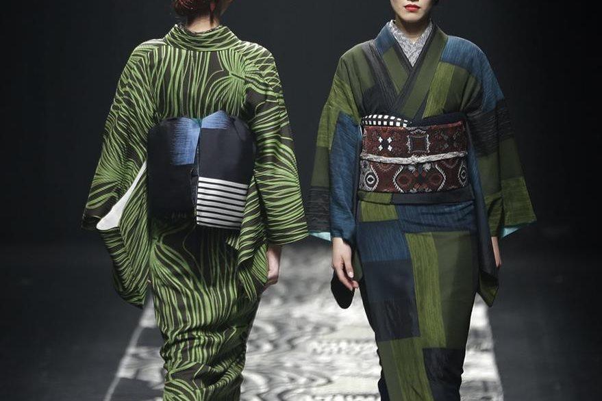 Jotaro Saito también presentó sus creaciones. (Foto Prensa Libre, AP)