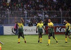 Guastatoya empató 1-1 de visita contra Xelajú MC.