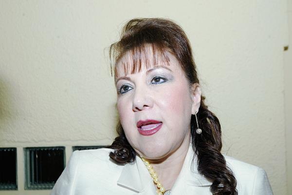 La magistrada Blanca Stalling fue mencionada en las escuchas telefónicas del caso La Línea. (Foto Prensa Libre: Hemeroteca PL)