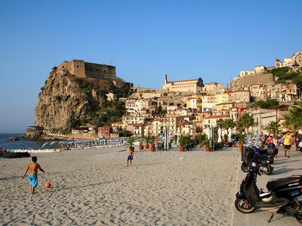 Poblado medieval de Sellia, en Calabria, Italia. (Foto Prensa Libre: Internet)