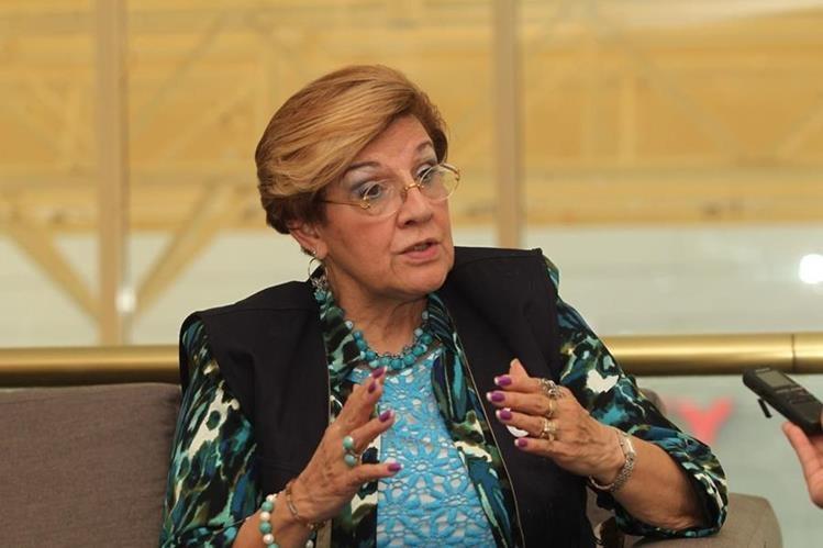 Esmeralda Arosemena de Troitiño, segunda vicepresidenta de la Corte Interamericana de Derechos Humanos, visitó el país (Foto Prensa Libre: Eirck Ávila).