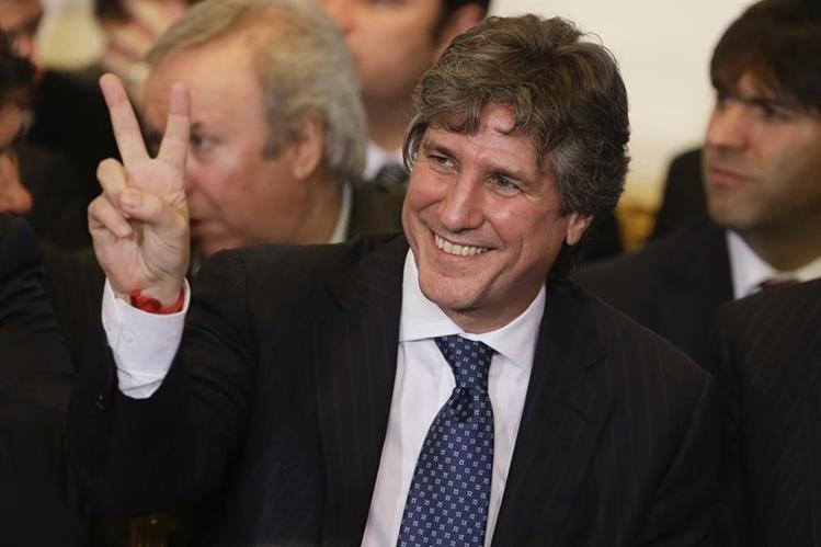 <em>La justicia argentina confirmó hoy el procesamiento contra el vicepresidente argentino, Amado Boudou. (Foto Prensa Libre: AP).</em>
