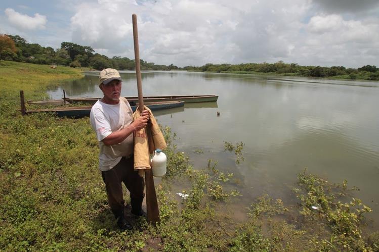 Las autoridades determinaron que el río está contaminado con el plaguicida Malation. (Foto Prensa Libre: Hemeroteca PL)