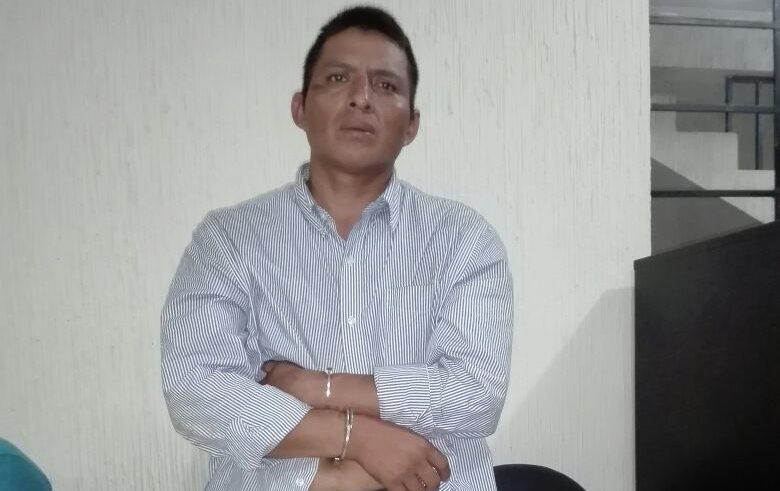 Mario Icó Sub, de 30 años, fue capturado el 3 de octubre de 2017 por haber herido a un hombre en San Luis, Petén. (Foto Prensa Libre: Rigoberto Escobar)