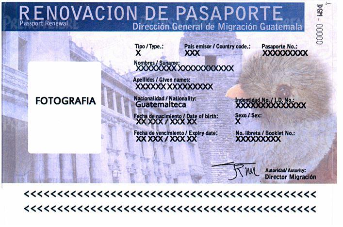 Migración colocará una calcomanía para validar por un año el pasaporte.( Foto Prensa Libre: Hemeroteca PL)