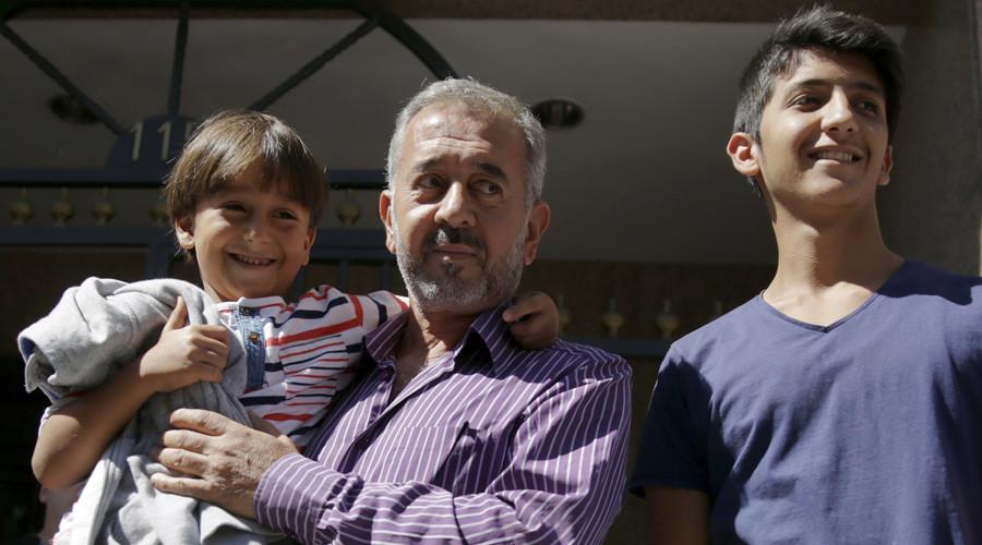 Mohsen al llegar a España donde obtuvo un final feliz. (Foto: Hemeroteca PL).