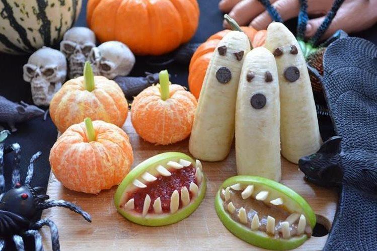 Con un poco de imaginación, las reuniones de Halloween se convertirán en fiestas gastronómicas.