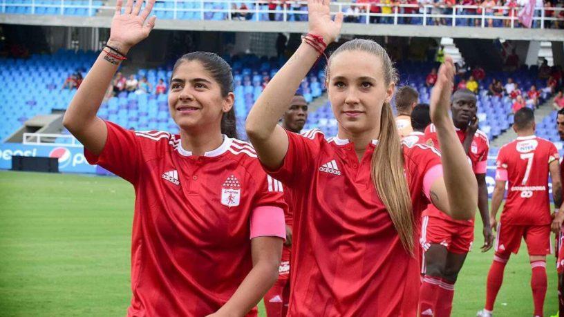 Las jugadoras colombianas están ansiosas por empezar a jugar. (Foto Prensa Libre: Internet)