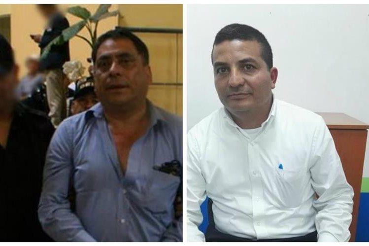 César Pérez Cáceres -izquierda- y José Pineda Vásquez, renunciaron a sus cargos en la comuna de Mixco. (Foto Prensa Libre: Hemeroteca PL)