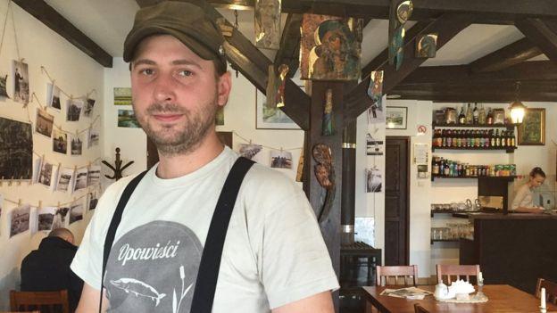Kamil Swietorzecki se mudó a Reino Unido cuando tenía 21 años, pero ahora regresó a Polonia para emprender.