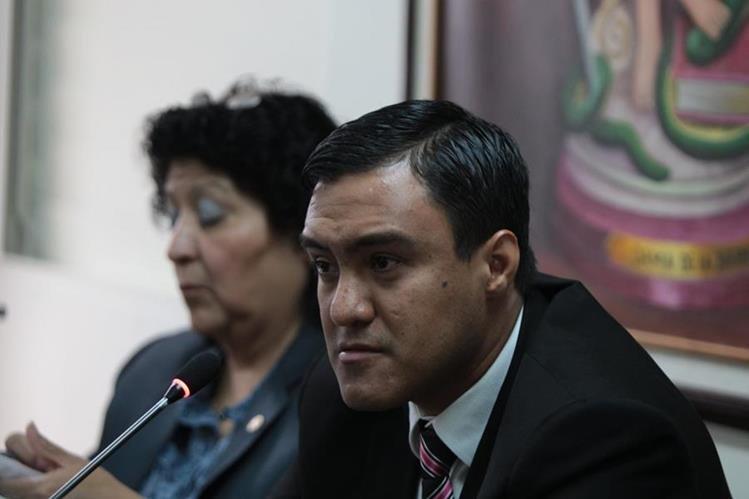 Otto Molina Stalling, uno de los implicados en el caso, durante una audiencia en el Juzgado Sexto Penal.