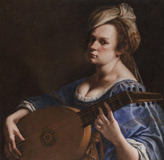 Artemisia Gentileschi fue una artista de excepcional talento. ALLEN PHILLIPS/WADSWORTH ATHENEUM