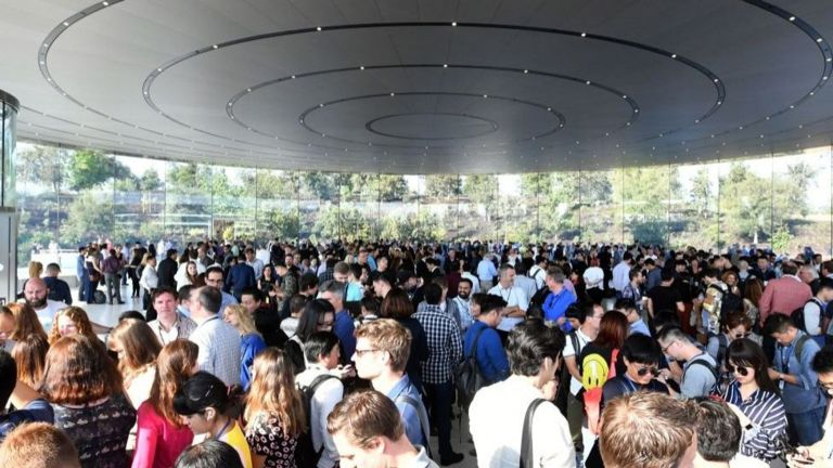 La presentación tendrá lugar en el teatro Steve Jobs, la sede de Apple en Cupertino, California. (Getty Images).