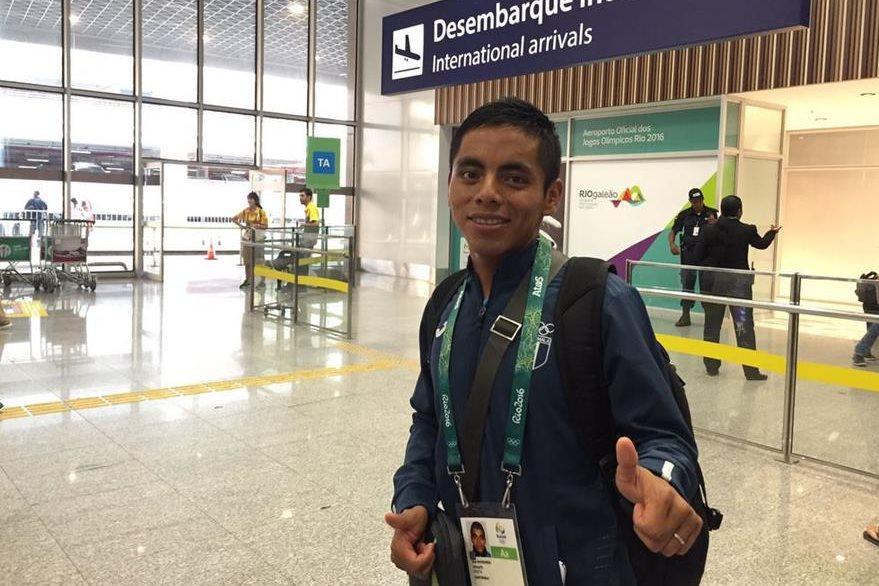 Raymundo, que participa en sus primeros Juegos Olímpicos, será el compañero de Barrondo en los 20 kilómetros. (Foto Prensa Libre:COG)