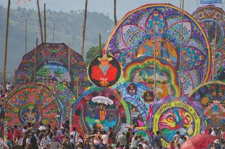 Así se celebró el Día de Todos los Santos, en Sumpango, Sacatepéquez.