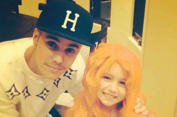 Jazmyn Bieber, hermana de Justin Bieber ahora es una youtuber que se hace más famosa. (Foto Prensa Libre: Hemeroteca PL)