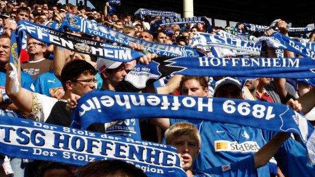 Los aficionados del pueblo de Sinsheim confían en que el equipo mantendrá la racha en la segunda parte de la temporada. (Getty Images)
