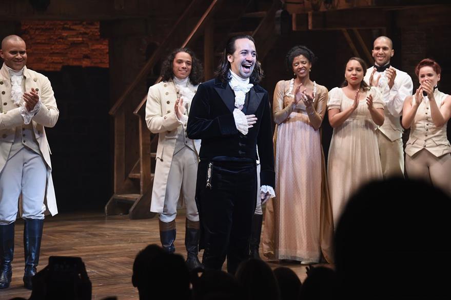 Con aplausos, el actor terminó en Broadway su presentación en el musical Hamilton. (Foto Prensa Libre: AFP)