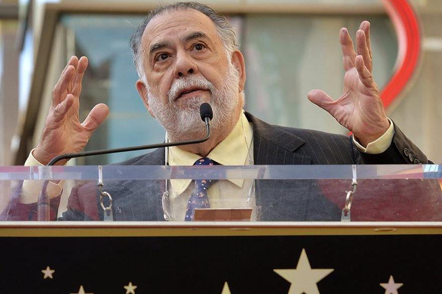 Foto tomada en enero de 2015 cuando Francis Ford Coppola daba un discurso en Hollywood, California. (Foto Prensa Libre: AFP)