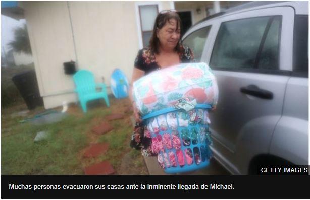 El huracán Michael toca tierra en Mexico Beach como la peor tormenta en llegar al noroeste de Florida en más de un siglo