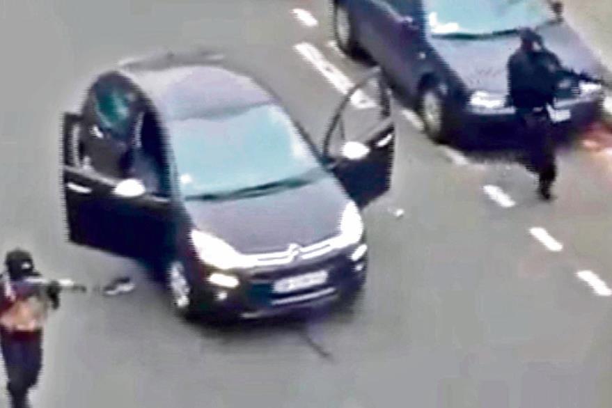 En enero, yihadistas atentaron contra el Semanario Charlie Hebdo en París, en uno de los peores atentados en la historia de ese país. (Foto Prensa Libre: hemeroteca PL).