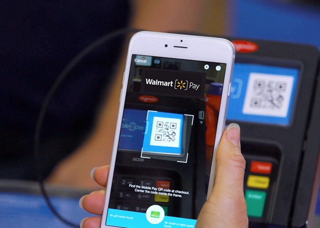 La aplicación creada por Wal-Mart, permitirá pagar mediante la lectura de un código QR.