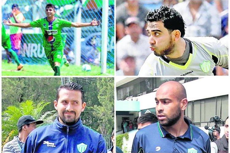 Los jugadores de Antigua fueron campeones con en el Apertura 2015. (Foto Prensa Libre: TodoDeportes)