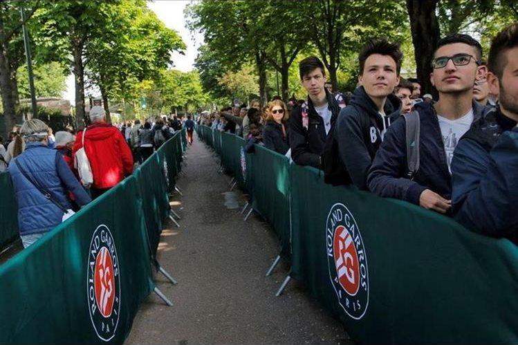 La organización del torneo de Francia incrementa la seguridad. (Foto Prensa Libre: Redes).