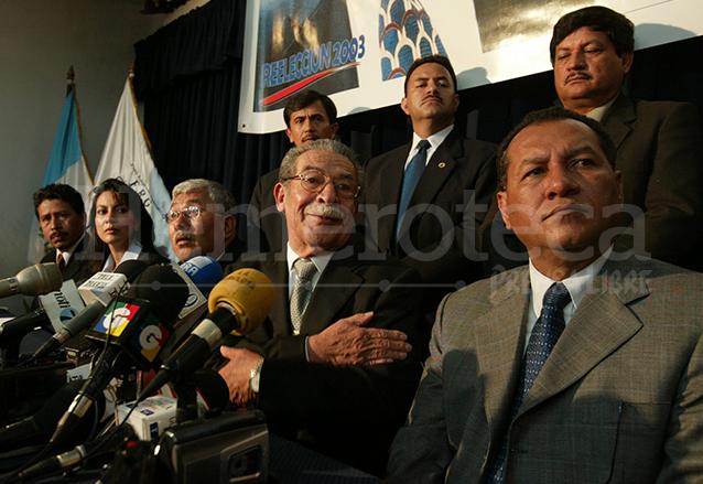Efraín Ríos Montt había anticipado en una conferencia de prensa tres días antes que las manifestaciones podrían salirse de control.  (Foto: Hemeroteca PL)