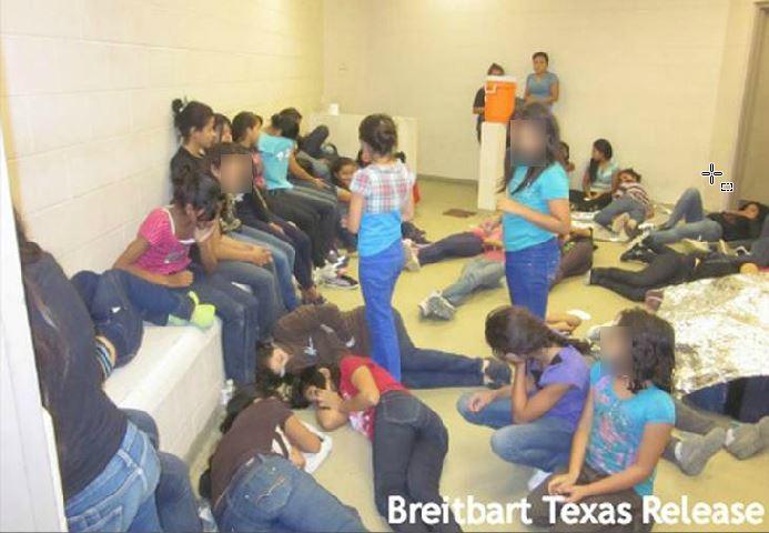 Imagen de archivo de un centro de detención en Texas. (Foto Prensa Libre: Hemeroteca PL)