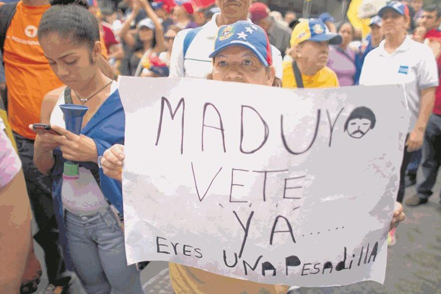 Protesta en Caracas, en mayo último. (Foto: Hemeroteca PL)