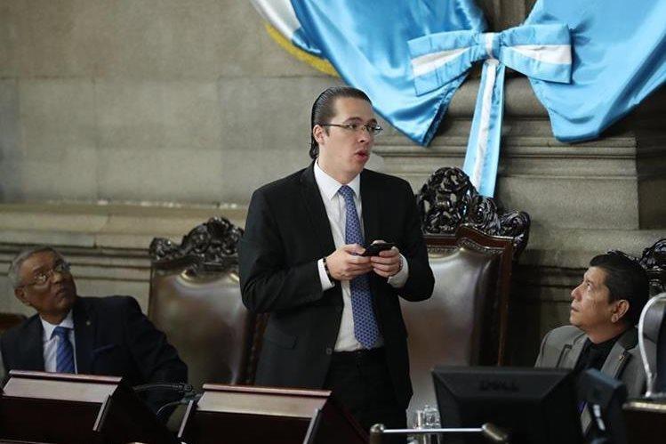 Felipe Alejos es el primer vicepresidente del Congreso de la República. (Foto Prensa Libre: Hemeroteca PL)