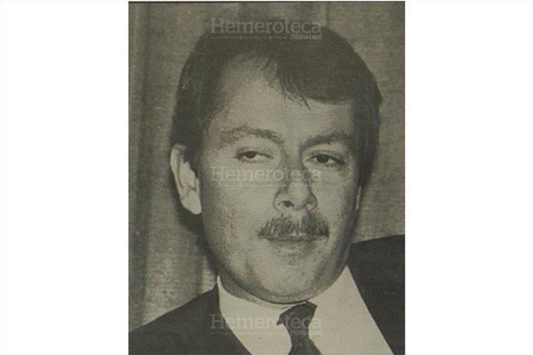 Jorge Briz Abularach, presidente de la Cámara de Comercio de Guatemala en 1995. (Foto: Hemeroteca PL)