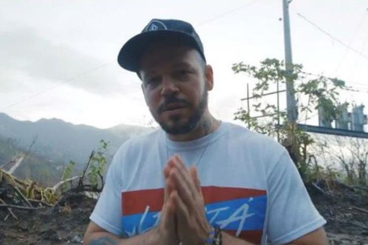 Residente dará un concierto en Guatemala el 29 de octubre. (Foto Prensa Libre: Tomada de twitter.com/residente)