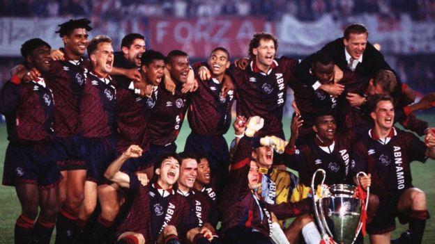 En 1995 el Ajax se coronó campeón de Europa con un equipo formado casi íntegramente por jugadores de la cantera.