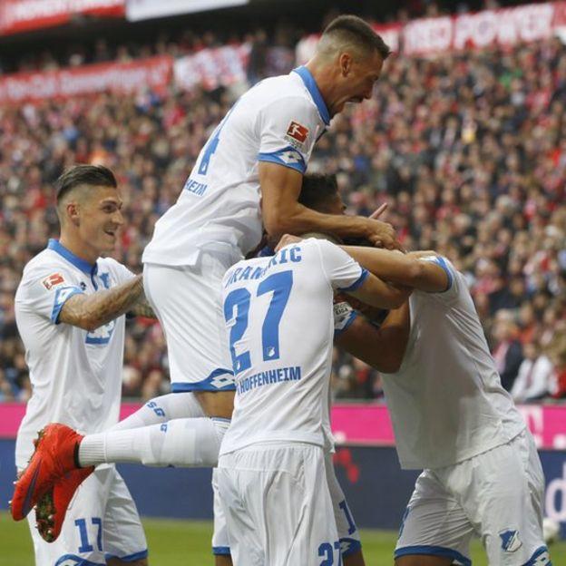 El Hoffenheim marcha invicto en la tercera posición de la Bundesliga. (Foto Prensa Libre: Getty Images)
