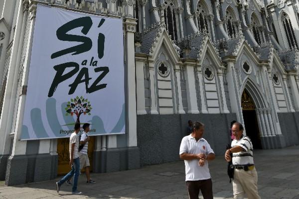 Los colombianos ratificarán en las urnas el acuerdo de paz. (AFP).