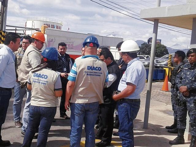 En los operativos, aparte del MP participaron personal de Diaco, SAT, PNC y MEM. Buscaban revisar peso exacto del gas en las plantas de embasado.