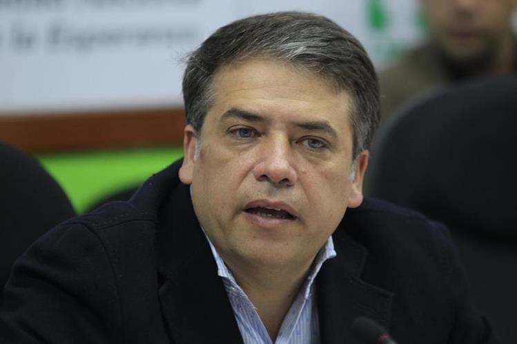 Edwin Escobar, alcalde de Villa Nueva sugiere que se busque otro lugar para construcción de cárcel. (Foto Prensa Libre: Hemeroteca)