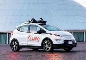 El vehículo diseñado por General Motors y Cruise espera funcionar a partir del 2019 (Foto Prensa Libre: GM).