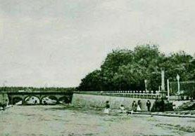 Panorámica del desaparecido parque. En la actualidad en el lugar está la sede del Seguro Social. (Foto: Museo Nacional de Historia).